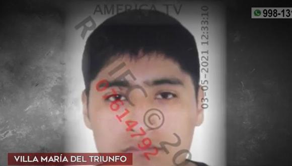 Carlos Daniel Quispe Salcedo es investigado por tentativa de feminicidio. (Captura: América Noticias)