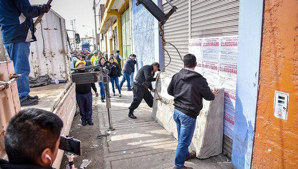 """MPT le declara la guerra  a los """"chupines"""" de Tacna"""