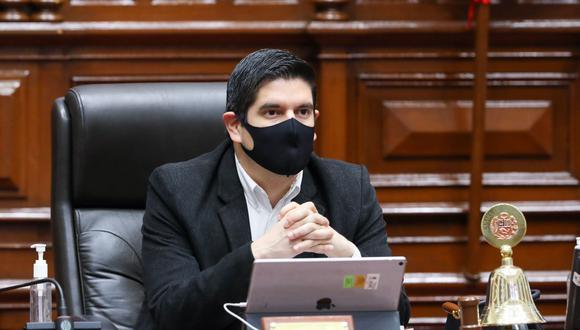 Vicepresidente Luis Roel pide que Mesa Directiva sesione para anular aumento de sueldos en el Congreso. (Foto: Andina)