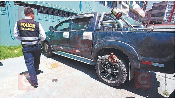 Sin saberlo, fiscales realizaban diligencias en carro que contenía droga