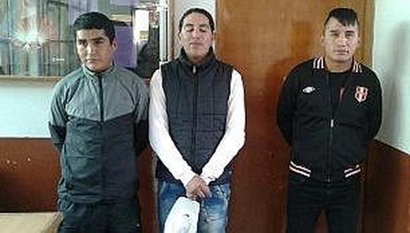 Cusco: Caen sujetos acusados de dedicarse al robo en buses