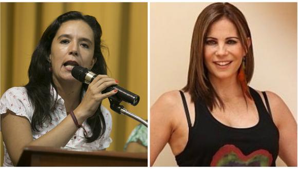 """Marisa Glave a Karina Calmet: """"No hay nadie del Movadef en nuestras filas"""""""