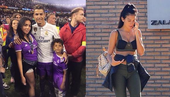 Pareja de Cristiano Ronaldo recupera su esbelta figura un mes después de dar a luz (FOTOS)