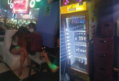 Policía allana disco club que funcionaba en pleno toque de queda