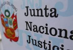 JNE comunica a la JNJ la suspensión de Luis Arce Córdova