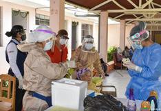 Realizan pruebas moleculares en asilo de Huánuco para detectar a pacientes COVID-19