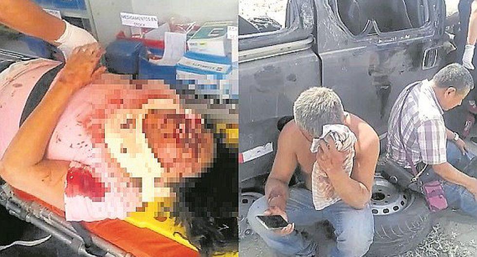 Mujer muere y otras cinco personas resultan heridas
