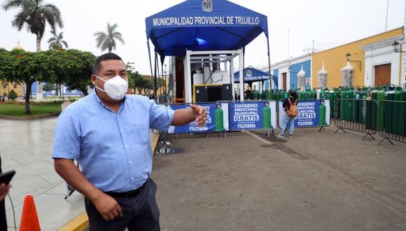 """José Ruiz dice que lo hace ante la """"aciaga"""" información de que pronto nos quedaremos sin este insumo y la Región solo está esperando la compra del Ejecutivo para poder abastecer a los centros de salud."""