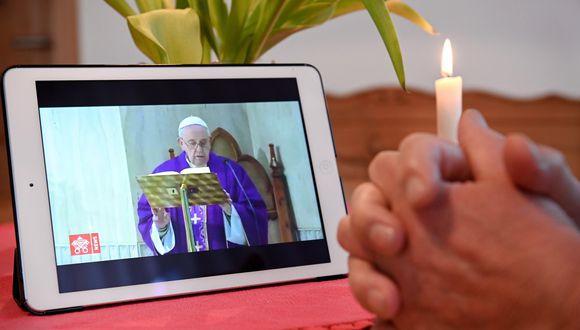 """El """"Directorio para la Catequesis"""" fue aprobado por el papa Francisco y presentado en el Vaticano. (Foto: EFE / Sascha Steinbach)"""