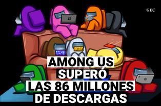 Among Us: 86 millones de descargas en dispositivos android e ios