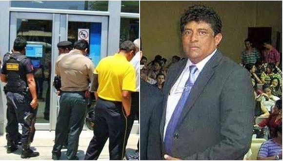 Fiscal habría desaparecido pruebas del robo de 70,000 soles al Banco Continental