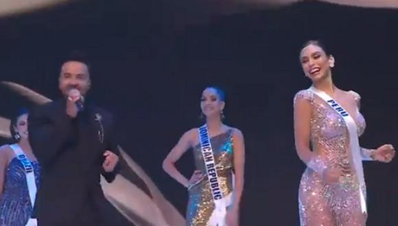 """Luis Fonsi participó en el Miss Universo 2021 con el tema """"Vacío"""". (Foto: captura)"""