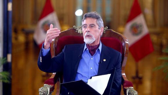El presidente realizó su primera reunión con las autoridades de los otros poderes del Estado el 24 de noviembre último, tras el relevo de generales de la PNP.