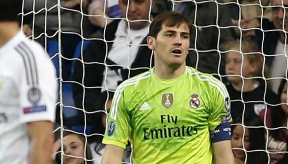"Iker Casillas: ""Hemos tocado fondo de manera estrepitosa"""