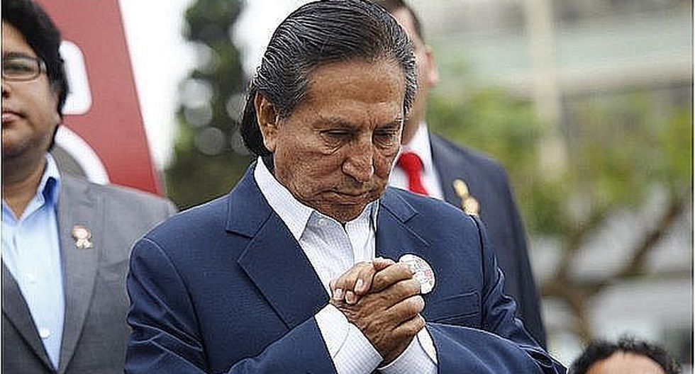 Confirman que defensa de expresidente Alejandro Toledo solicitó pago de una fianza