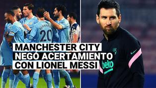 Manchester City no ha hecho oferta alguna por Lionel Messi