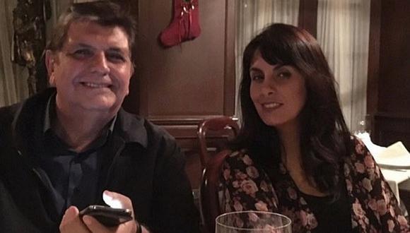 Alan García: su hija Carla García en el primer Día del Padre sin el expresidente  (FOTO)