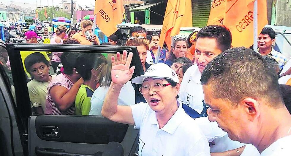 Susana Higuchi entra a la campaña en apoyo de Keiko Fujimori