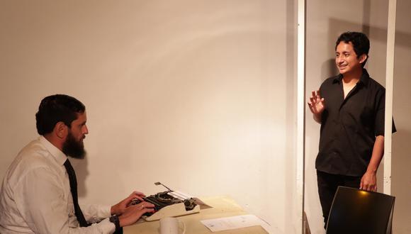 """La obra """"Entrevista para ser un fantasma"""", se presenta a través de la plataforma Zoom. (Foto: Club de Teatro de Lima)"""