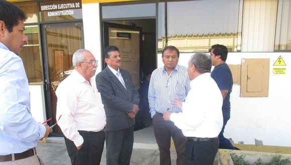 CHICLAYO: Consejeros regionales constatan irregular alquiler de almacén en Geresa
