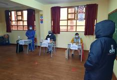 Huancavelica: Plataforma para miembros de mesa