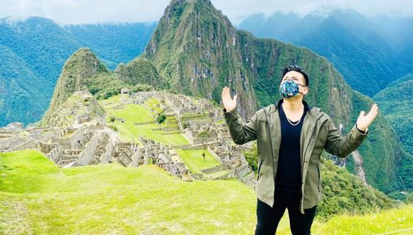 Deyvis Orosco anunció que grabará un nuevo videoclip en Machu Picchu. (Foto: Cortesía de Deyvis Orosco)