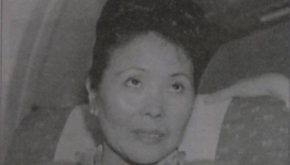 Interpol busca a Rosa Fujimori por presunto delito de enriquecimiento ilícito