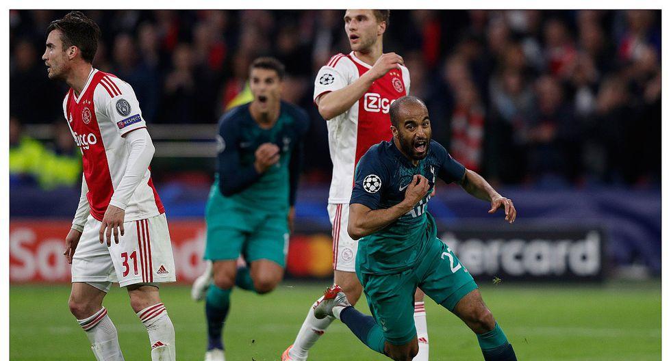 Tottenham jugará la final de la Champions League tras vencer 2-3 al Ajax  en Amsterdam (VIDEO)