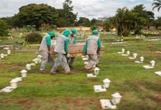 Brasil rebasa los 550.000 muertos por el coronavirus