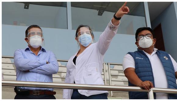 Colegio de Enfermeros del Perú envía advertencia desde Lima y piden restitución de coordinadora de inmunizaciones Milagros Rosales. Hoy habrá protesta en sede de la Geresa contra la gerente Kerstyn Morote.
