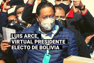 Bolivia: Luis Arce promete un gobierno de unidad nacional tras ganar en primera vuelta