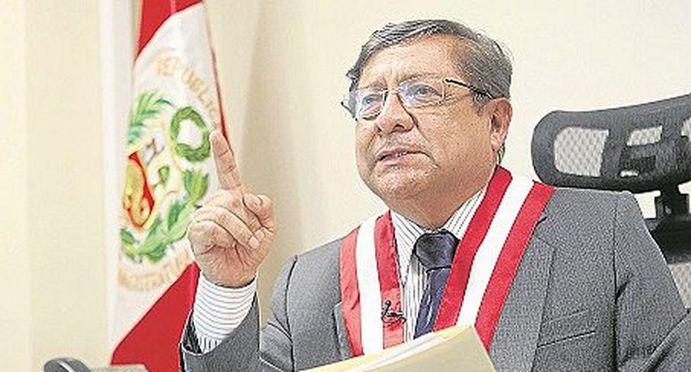 Velásquez dice que el  tema a tratar con Chávarry era académico