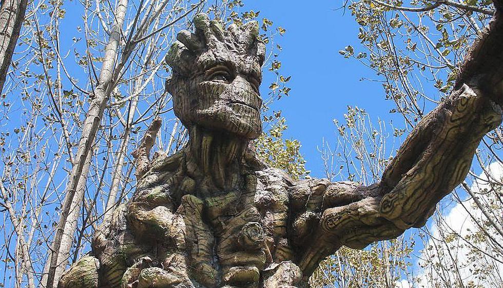 Personajes de Avengers y el Señor de Los Anillos en nuevo parque ecológico (FOTOS)