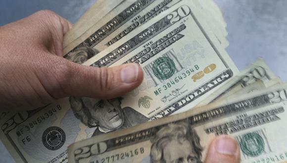Dólar. (Foto: AP)