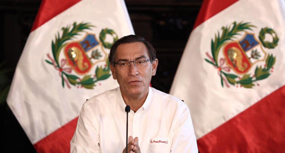 Presidente Martín Vizcarra informará sobre las medidas que se vienen implementando por el estado de emergencia para frenar avance de coronavirus. (Foto: GEC)