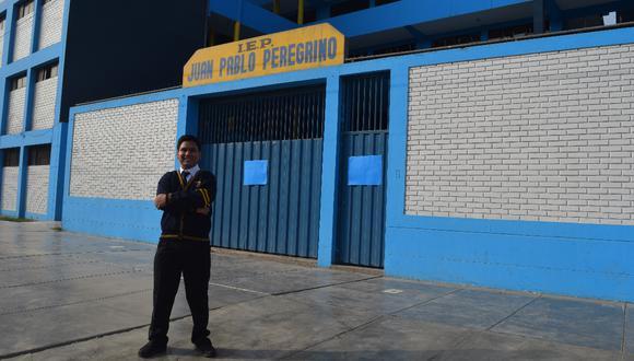 Franco Rubiños Cuesta (18), de Carabayllo, alcanzó una vacante en a la carrera de Medicina General