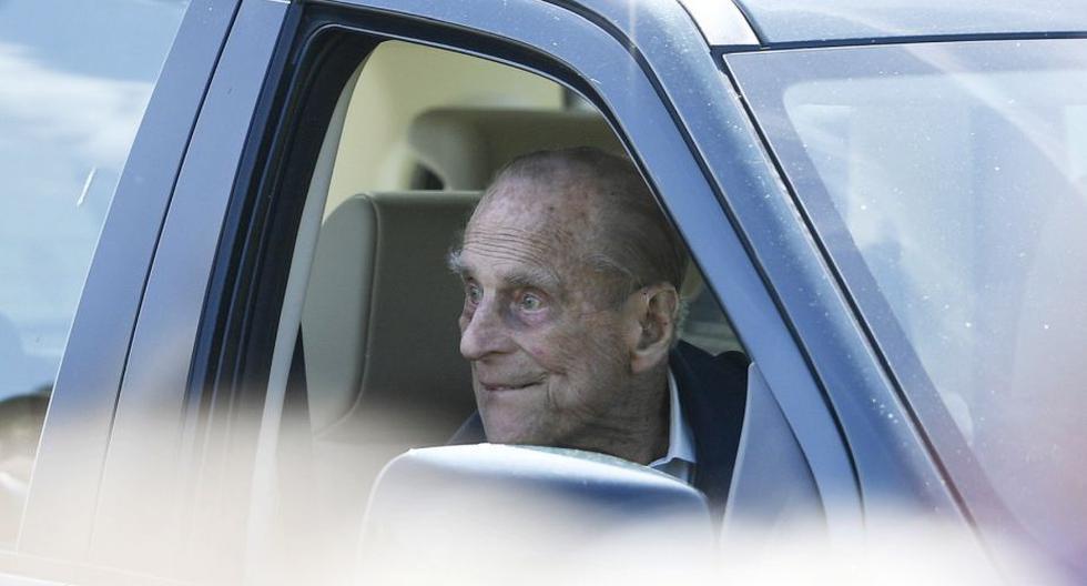 Imagen del príncipe Felipe, esposo de la reina Isabel II. (Foto: EFE)