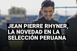 Jean Pierre Rhyner fue convocado a la selección peruana para las Eliminatorias