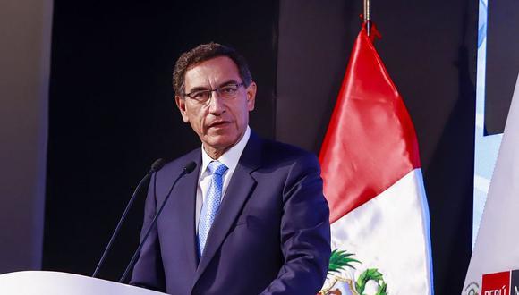 Vizcarra también se mostró confiado en que el gabinete ministerial que preside Vicente Zeballos obtendrá el voto de confianza del nuevo Congreso. (Foto: Andina)