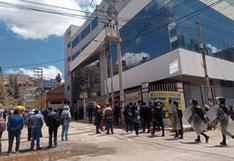 Juliaca: Autoridades de la UANCV insisten con prometer nuevo licenciamiento
