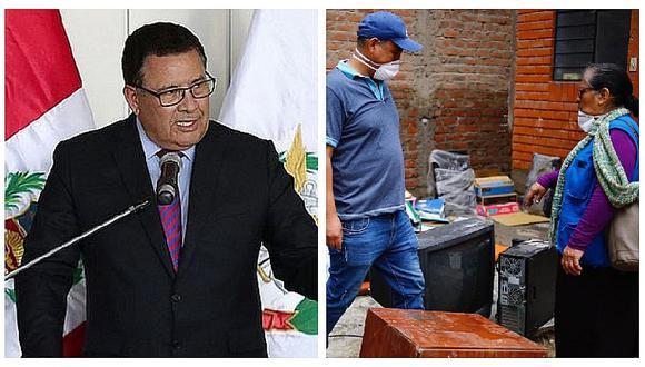 José Huerta aseguró que indemnización es fijada por aseguradora y damnificados de aniego en SJL