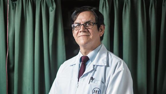 Decano del CMP, Miguel Palacios, señaló que el médico Ciro Maguiña se encuentra internado en el hospital Edgardo Rebagliati