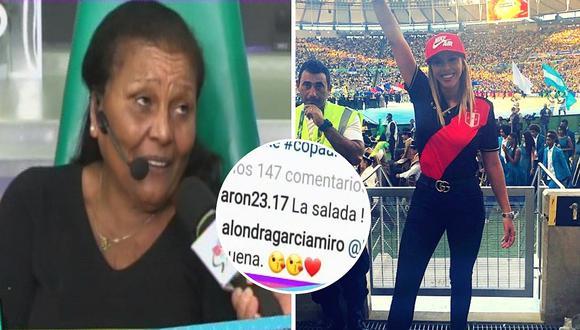 """'Doña Peta' defendió a Alondra García Miró luego de que la llamaran """"salada"""" (VIDEO)"""