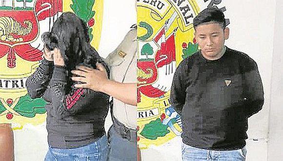 Escolar se evade de clases y es sorprendida con un joven en Trujillo (VIDEO)