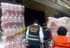 Huánuco: Intervienen local donde se comercializaba alcohol y lejía adulterada