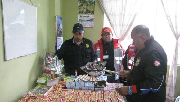 Dictan charlas sobre peligro de pirotécnicos en Chiclayo