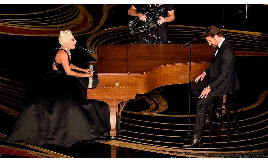 Lady Gaga y Bradley Cooper protagonizaron conmovedora presentación en el Oscar 2019 (VIDEO)