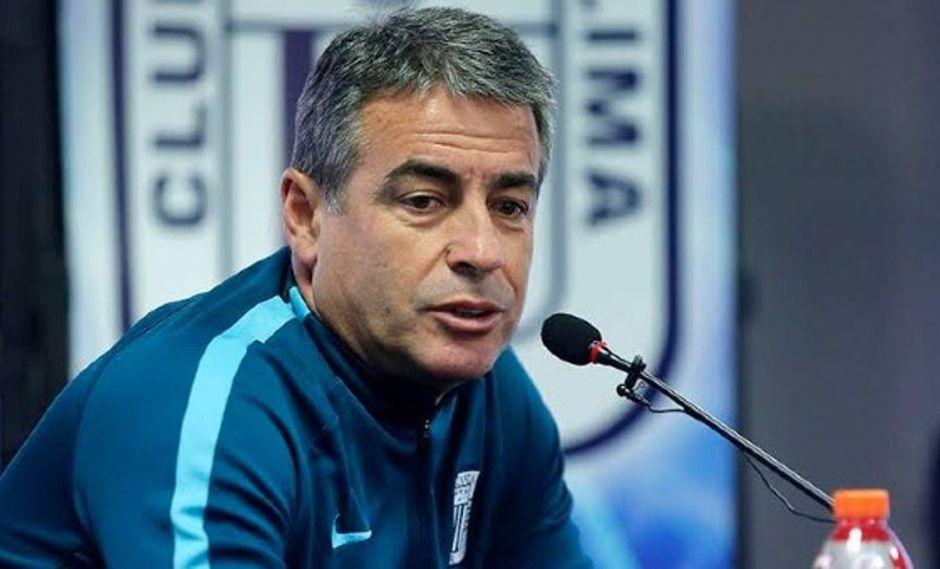 El estratega uruguayo Pablo Bengoechea quiere hacer un buen papel en la Copa Libertadores con Alianza Lima.