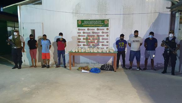 Narcotraficantes caen con más de 20 kilos de PBC en La Morada