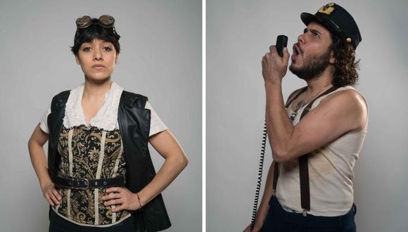 El guion fue escritor por la brasilera-peruana Paloma Reyes de Sá y el actor Manuel Gold, y actúan Jely Reátegui y César García. (Fotos: Difusión / DMGCOMUNICACIONES).
